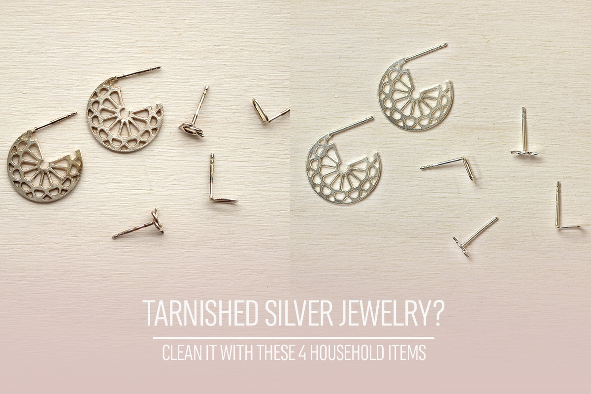How to clean sterling silver jewelry.